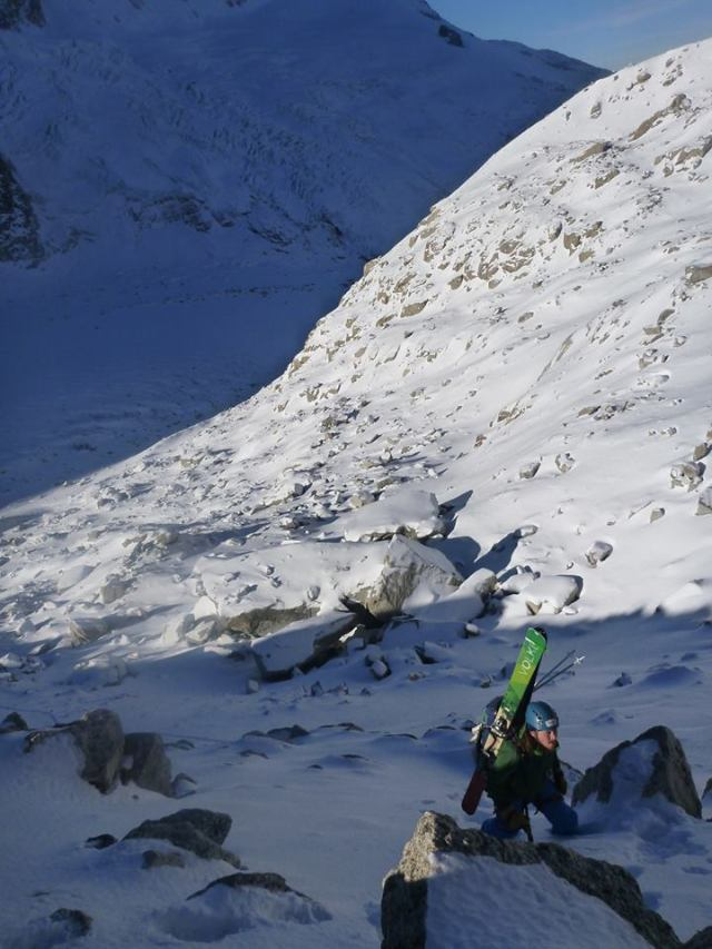 Mileu Glacier moraine2