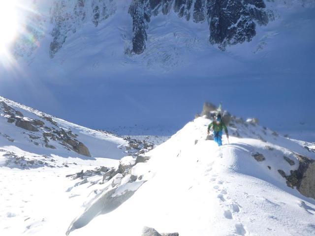 Mileu Glacier moraine3