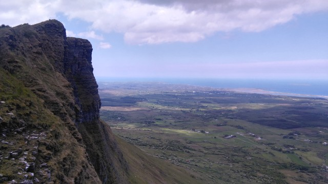 Benwiskin north face, Mullaghmore
