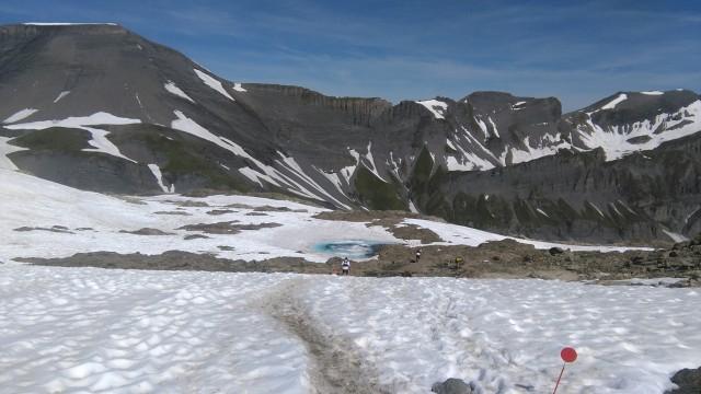 Cheval Blanc from Col de la Terrasse