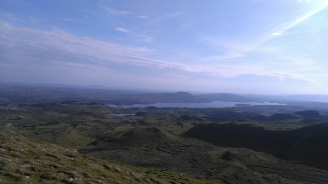 Lough Gill from Leean Mountain