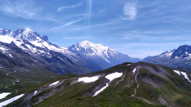 MB80km, Mont Blanc from L'Arolette