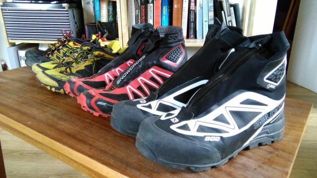 Shoes, Salomon X Alp