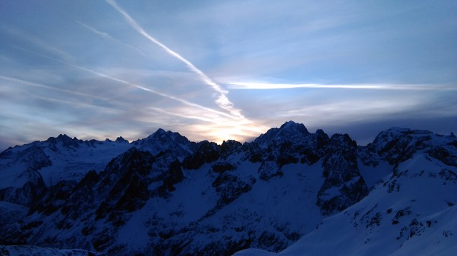 Sunrise on Mont Buet