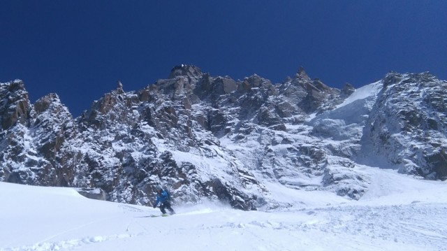 Grant, Midi north west face