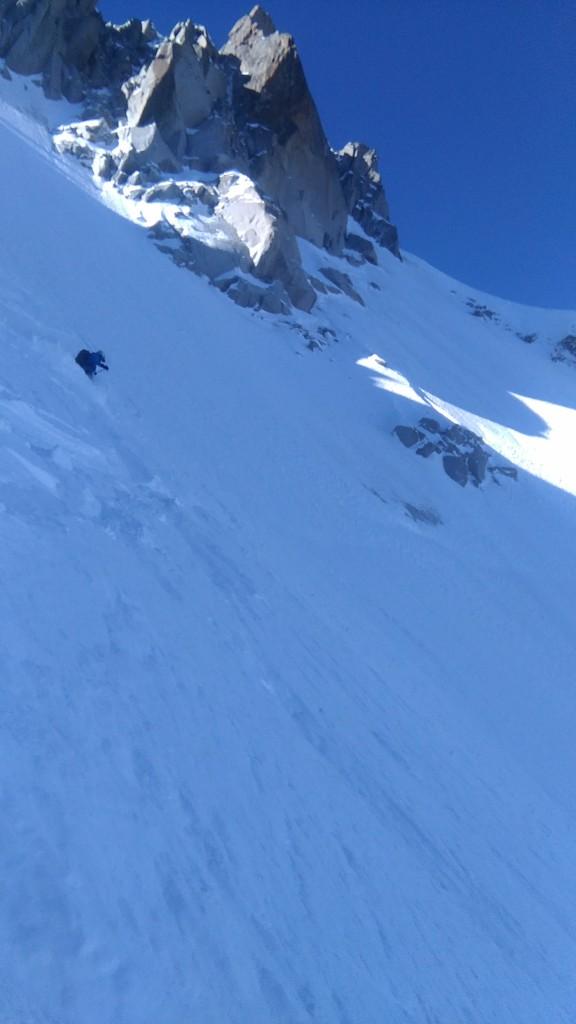 Grant skiing Col du Plan